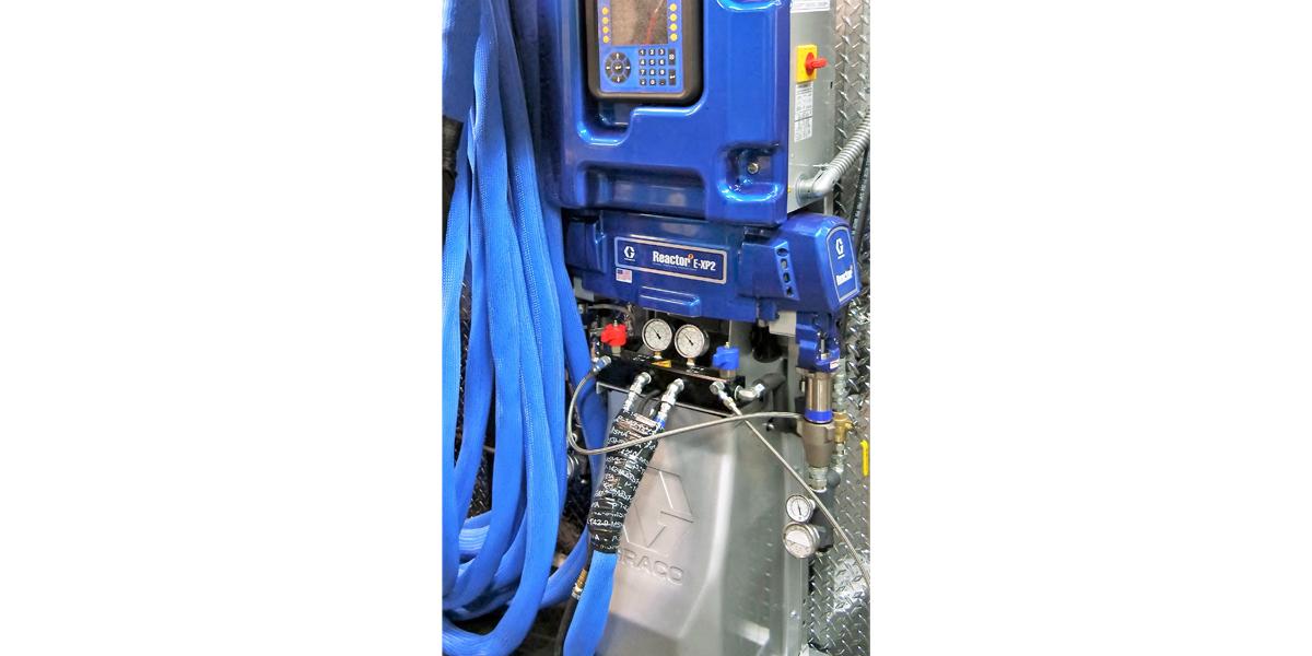 Polyurea Coatings Equipment