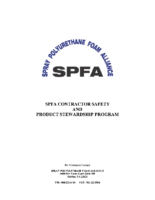 05 SPFA Contractor Safety and Product Stewardship Program