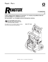 312066ZAC, Reactor, Electric Proportioners, Repair-Parts, (English)