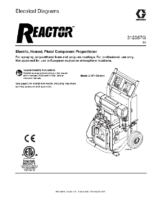 312067G – Reactor, Electric Proportioners, Electrical Diagrams, (English) noptc