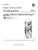 333023J, Reactor 2 E-30 and E-XP2 Proportioning Systems Operation (English)
