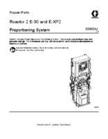 333024J, Reactor 2 E-30 and E-XP2 Proportioning System Repair, Parts (English) noptc