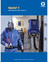 Reactor 2 Spray Foam and Polyurea Equipment brochure