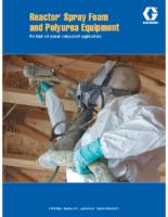 Reactor Spray Foam and Polyurea Equipment