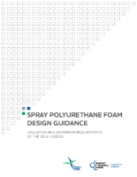Spray Polyurethane Foam Design Guidance Insulation and Air Barrier Requirements of the 2012 I-Codes